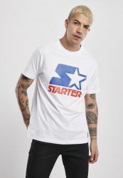 Pánske tričko Starter Two Color Logo Tee Farba: white,