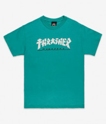 Pánske tričko Thrasher Godzilla jade