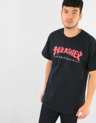 Pánske tričko Thrasher Godzilla T-Shirt - Black