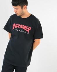 Pánske tričko Thrasher Godzilla T-Shirt - Black #3