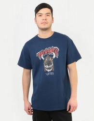Pánske tričko THRASHER Lotties T-Shirt - Navy