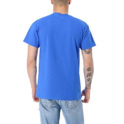 Pánske tričko THRASHER RIPPED TEE ROYAL BLUE #2