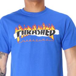 Pánske tričko THRASHER RIPPED TEE ROYAL BLUE #3