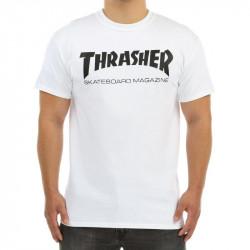 Pánske tričko Thrasher Skate Mag T-Shirt biele Farba: Čierna,