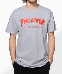 Pánske tričko Thrasher Skate Mag T-Shirt grey Farba: Šedá,
