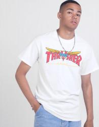 Pánske tričko THRASHER Venture Collab white Farba: Biela,
