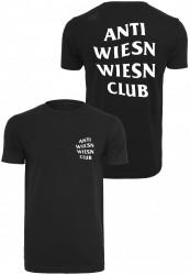 Pánske tričko Turn Up Wiesn Club Black Tee