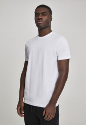 Pánske tričko URBAN CLASSICS Basic Tee 2-Pack white/white