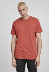 Pánske tričko URBAN CLASSICS Basic Tee burned red