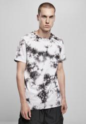 Pánske tričko URBAN CLASSICS Black Tie Dye Tee