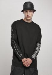 Pánske tričko URBAN CLASSICS Chinese Symbol Oversized LS