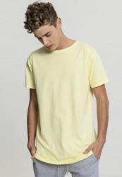 Pánske tričko URBAN CLASSICS Garment Longshape Tee powderyellow