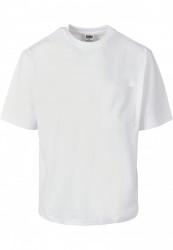 Pánske tričko URBAN CLASSICS Heavy Boxy Pocket Tee white