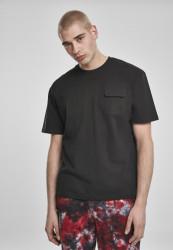 Pánske tričko URBAN CLASSICS Heavy Boxy Tactics Tee black