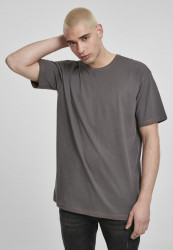 Pánske tričko URBAN CLASSICS Heavy Oversized Contrast Stitch Tee darkshadow/brick