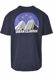 Pánske tričko URBAN CLASSICS Horizon Tee midnightnavy #1