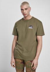 Pánske tričko URBAN CLASSICS Horizon Tee olive