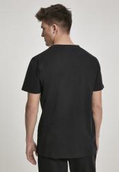 Pánske tričko URBAN CLASSICS Modal Mix Pocket Tee black #2