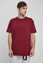 Pánske tričko URBAN CLASSICS Organic Basic Tee burgundy