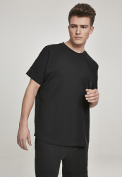 Pánske tričko URBAN CLASSICS Oversize Cut On Sleeve Tee black