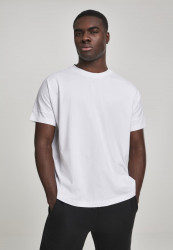 Pánske tričko URBAN CLASSICS Oversize Cut On Sleeve Tee white