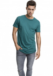 Pánske tričko URBAN CLASSICS SHAPED LONG TEE jasper