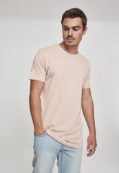 Pánske tričko URBAN CLASSICS SHAPED LONG TEE LIGHT ROSE