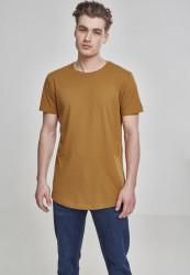 Pánske tričko URBAN CLASSICS SHAPED LONG TEE NUT