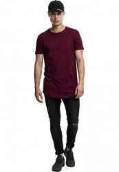 Pánske tričko URBAN CLASSICS SHAPED LONG TEE PORT