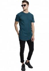 Pánske tričko URBAN CLASSICS SHAPED LONG TEE TEAL