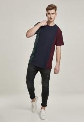 Pánske tričko URBAN CLASSICS Tripple Tee bottlegreen/midnightnavy #4