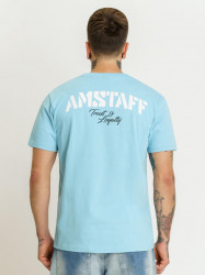 Pánske tyrkysové tričko Amstaff Logo 2.0 T-Shirt Size: 3XL #1