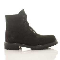 Pánske vodeodolné čierne zimné topánky Timberland 6-Inch Icon