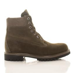 Pánske vodeodolné olivové zimné topánky Timberland 6-Inch Icon