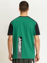 Pánske zelené tričko Amstaff Smash T-Shirt Size: 3XL #1