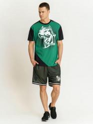 Pánske zelené tričko Amstaff Smash T-Shirt Size: 3XL #2