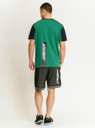 Pánske zelené tričko Amstaff Smash T-Shirt Size: 3XL #3