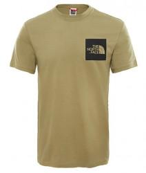 Pánske zelené  tričko s krátkym rukávom The North Face