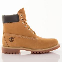 Pánske žlté vodeodolné kožené zimné topánky Timberland 6-INCH