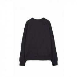 Pánsky čierny crewneck Sixth June Raglan Sweatshirt #4
