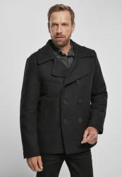 Pánsky kabát BRANDIT Pea Coat Farba: black, Grösse: XXL
