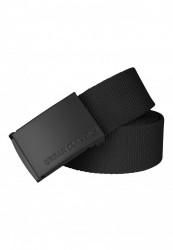 Pánsky opasok Urban Classics Canvas Belts black/black