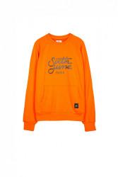 Pánsky oranžový crewneck Sixth June Raglan Sweatshirt Farba: Oranžová, #4