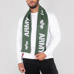 Pánsky šá Alpha Industries Scarf Dark Green - UNI