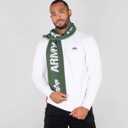 Pánsky šál Alpha Industries Scarf dark green