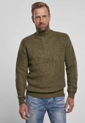 Pánsky sveter BRANDIT Marine Troyer Farba: olive,