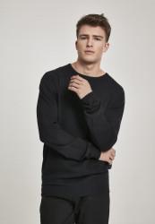 Pánsky sveter URBAN CLASSICS Longsleeve Sweater black