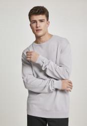 Pánsky sveter URBAN CLASSICS Longsleeve Sweater lightgrey