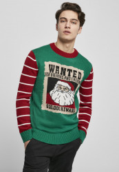 Pánsky sveter URBAN CLASSICS Wanted Christmas