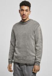 Pánsky sveter Urban Classics Washed Sweater šedý